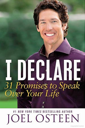 Book cover of I Declare: 31 Promises to Speak Over Your Life