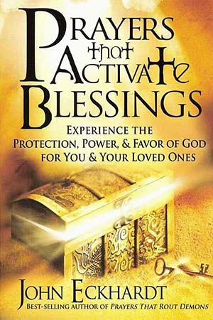 Cover book of Prayers that Activate Blessings