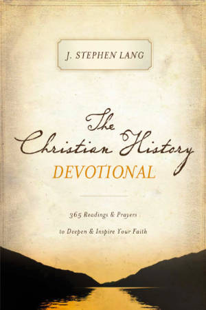 Book cover of The Christian History Devotional
