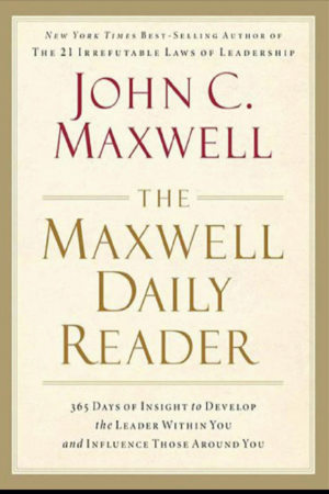 Book cover of The Maxwell Daily Reader