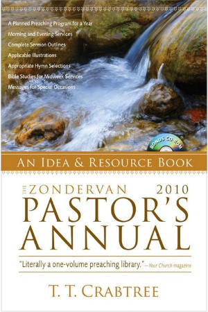 portada del libro The Zondervan 2010 Pastor's Annual: An Idea and Resource Book