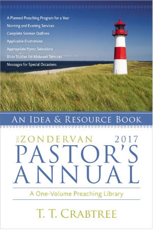 portada del libro The Zondervan 2017 Pastor's Annual: An Idea and Resource Book
