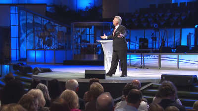The good news is that Jesus died for our sins. Jack Graham
